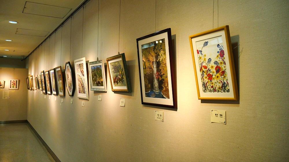 NAAアートギャラリーの内部