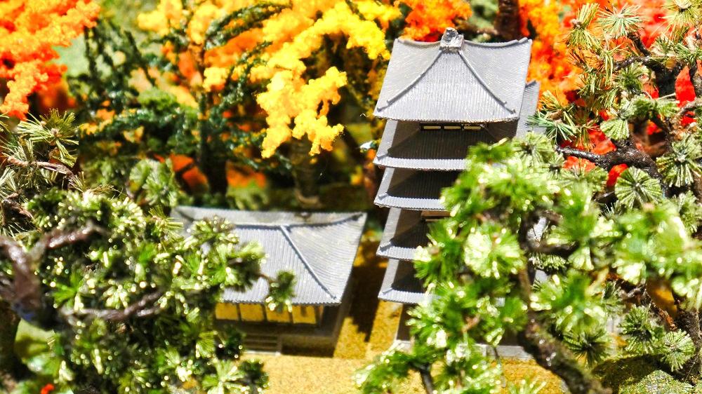 猿沢池(奈良県)の盆景