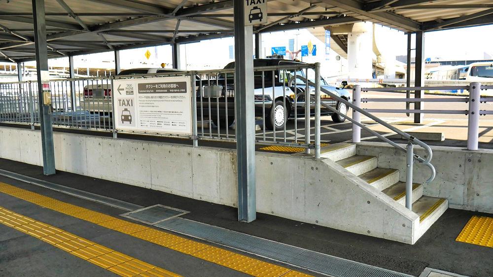 第3ターミナルのタクシー乗り場