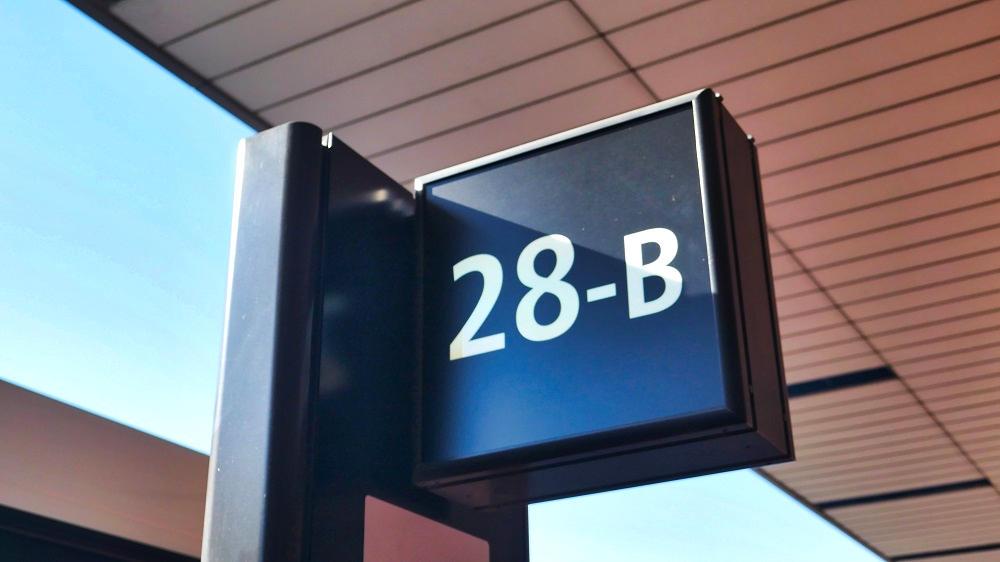 第2ターミナル【28番-B】停留所