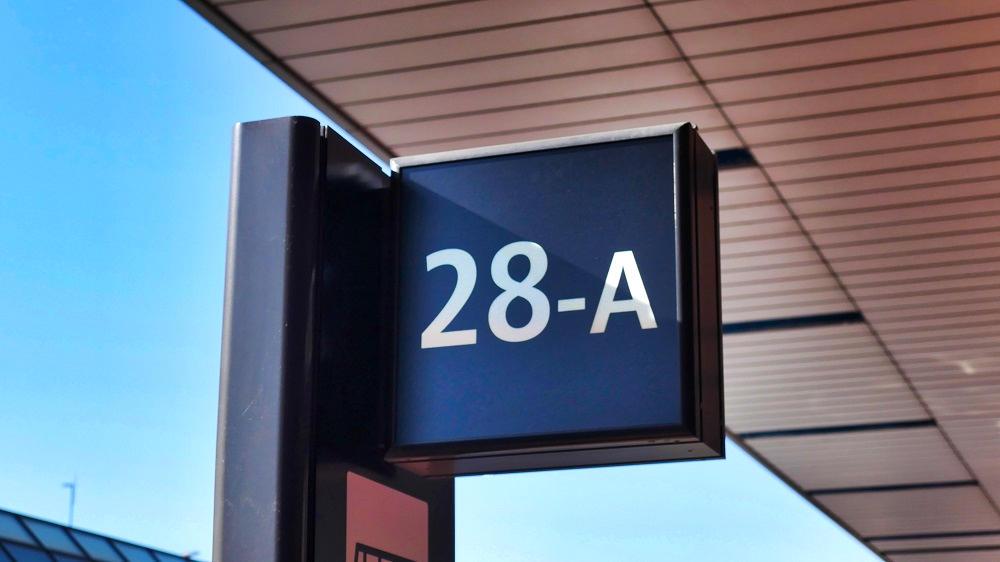 第2ターミナル【28番-A】停留所