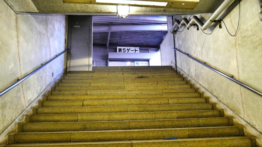 東成田駅の第5ゲート