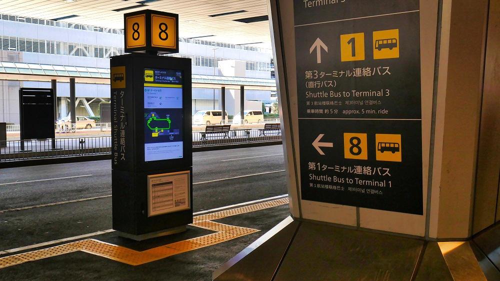 第2ターミナル【8番停留所】