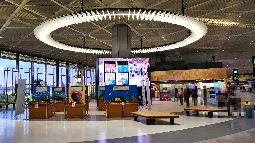 『折り紙ミュージアム』は第1ターミナル4F北ウイングで開催