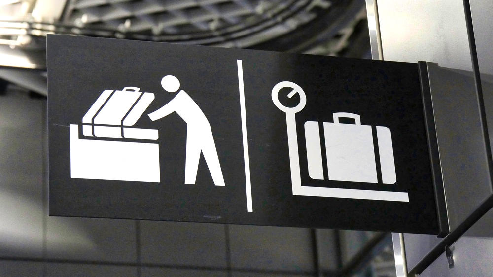 成田空港のパッキングエリアのアイコン