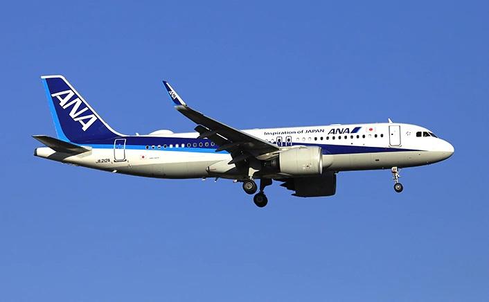 エアバス A320neo ANA機
